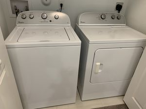 Whirlpool Washer & Dryer for Sale in Sunrise, FL