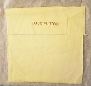 Genuine LOUIS VUITTON Large Cotton Dustbag Storage Bag for Sale in Tempe, AZ