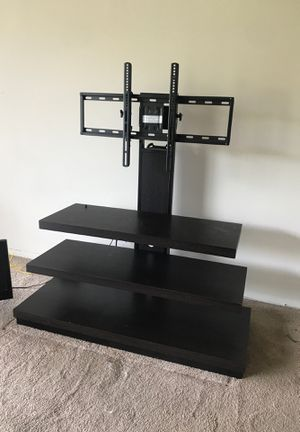 3 Tier TV Mount Brown & Black PICK UP ONLY for Sale in Washington, DC