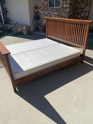 King Bed and Box Springs for Sale in Salinas, CA