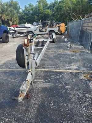 Galvanize boat trailer for Sale in Pompano Beach, FL