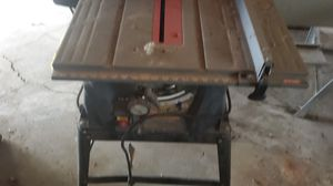 Ryobi 10 in table saw for Sale in Hilliard, OH