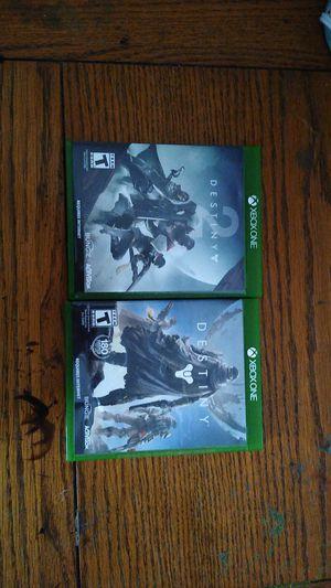 Destiny 1 and 2 for Sale in Victoria, TX