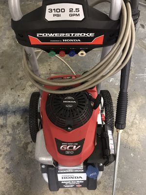 Honda Powerstroke Pressure Washer — 3100 PSI for Sale in Kent, WA