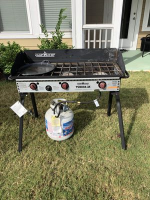 Tundra outdoor camping three gas stove for Sale in Apex, NC