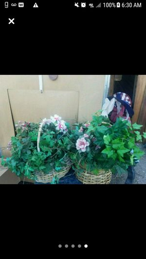Artificial House Plants in Baskets for Sale in Marble Falls, TX
