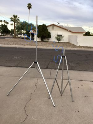 ALUMINUM TRIPODS IN GREAT CONDITION $35 FOR ONE OR $60FOR BOTH for Sale in Glendale, AZ
