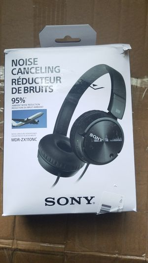 Sony MDR-ZX110NC wired noise cancelling for Sale in Pittsburgh, PA