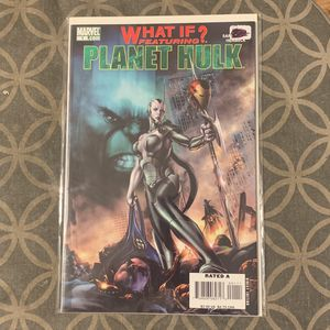 Marvel Comic Book What If Planet Hulk for Sale in Upland, CA
