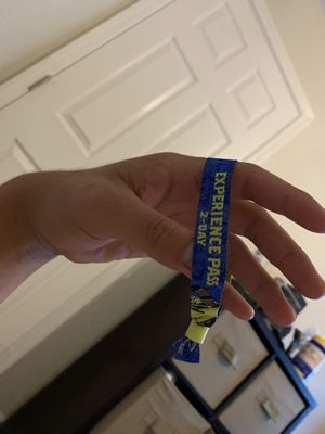 1 Escape Pyscho Circus GA 2-Day Wristband for Sale in Antioch, CA