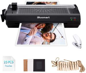 13 inches Laminator, Blusmart Multiple Function A3 Laminator with 25 Laminating Pouches, Paper Cutter, Corner Rounder Laminate for Sale for sale  New York, NY