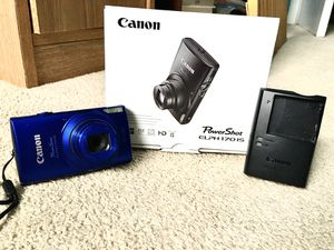 Canon PowerShot ELPH 170 IS 20MP w/ 12x Optical Zoom for Sale in Eureka, MO