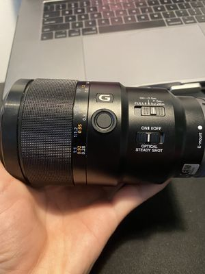 Sony FE 90mm f2.8 OSS macro lens for Sale in Fountain Valley, CA