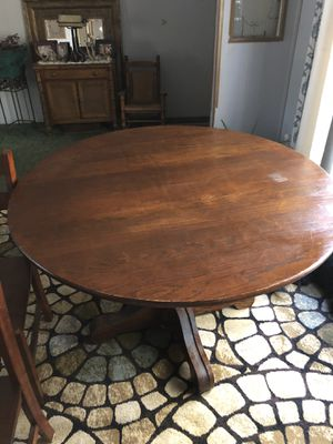 Solid Wood Dining Room Table for Sale in Hiram, GA