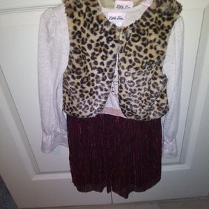 Dress With Vest for Sale in Oklahoma City, OK