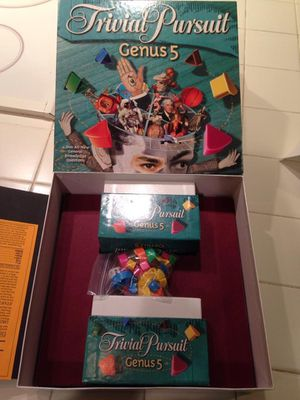 Brand new Trivial Pursuit Genus 5 board game for Sale in Plantation, FL