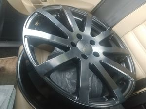 Black Rims 18inch without the Tires for Sale in Twinsburg, OH