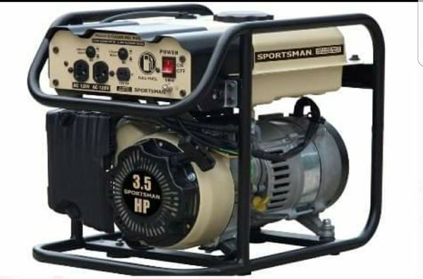 Gasoline 2000 Watt Portable Gas Powered Generator Camping Backup RV