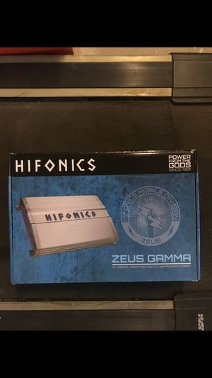 Hifonics ZG3200.1D Bass Amp 3200 Watts with bass knob for Sale in Chino Hills, CA