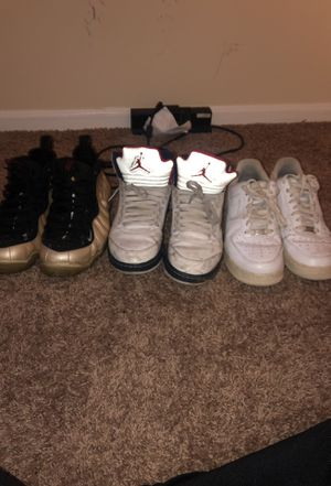 Beaters Jordan's 5 Foamposites, Air Force Ones Size 10 for Sale in Silver Spring, MD