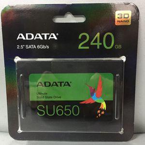 ADATA SU650 SSD for Sale in Blacksburg, VA