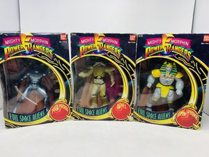 Power Rangers Evil Space Aliens Action Figure Bandai 1993 for Sale in Irwindale, CA