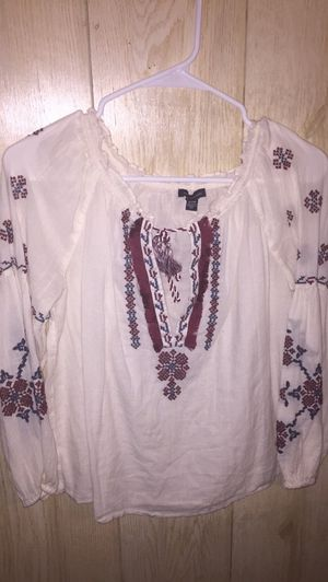 American eagle peasant blouse for Sale in Farmville, VA