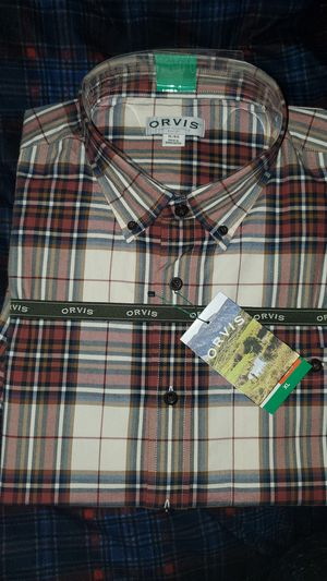 Xl Orvis button down shirt for Sale in Gresham, OR