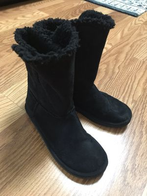 Girls Justice Black Boots Shoes Size 4 for Sale in Spring, TX