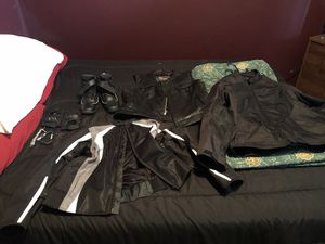 Motorcycle gear for Sale in Manor, TX