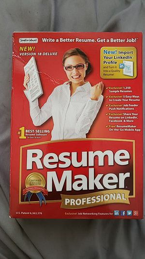 Resume Maker for Sale in Pawtucket, RI