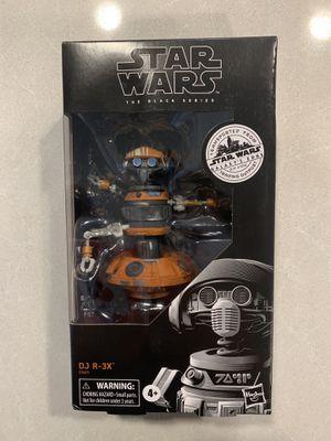 DJ R-3X Black Series Figure Star Wars Galaxy's Edge Trading Post R3X Target Exclusive E9625 Disney Hasbro for Sale in Lewisville, TX
