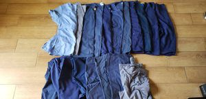 11 women's scrub tops and 7 bottoms. Size small and medium. Greys Anatomy, Dickies, Wink for Sale in Franklin, TN