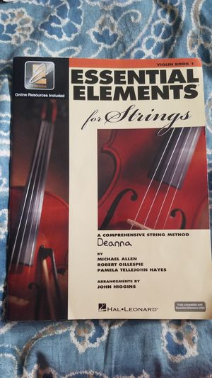Essential Elements Violin Book 1 for Sale in Everett, WA
