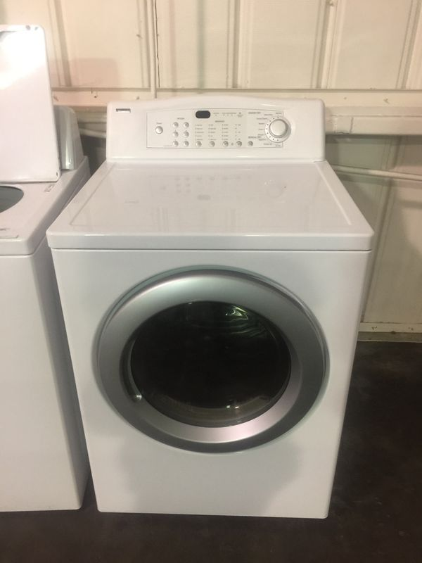 LG washer and Kenmore Gas Dryer