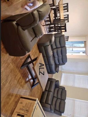 [SPECIAL] Dynamo Brown 3-Piece Reclining Living Room Set for Sale in Houston, TX