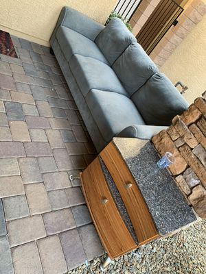 Sofa and side table for Sale in Henderson, NV