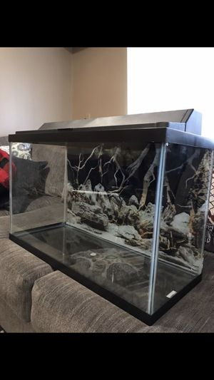 Fish tank 29G for Sale in Gaithersburg, MD