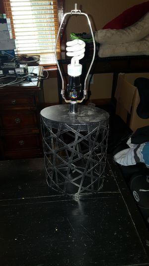 Designer lamp no shade for Sale in Tampa, FL