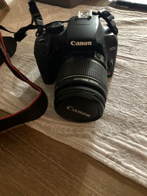 Cannon EOS Rebel Camera including 3 brand new filters & brand new camera back back case for Sale in NEW PRT RCHY, FL