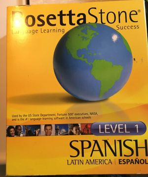 Rosetta Stone for Sale in Houston, TX