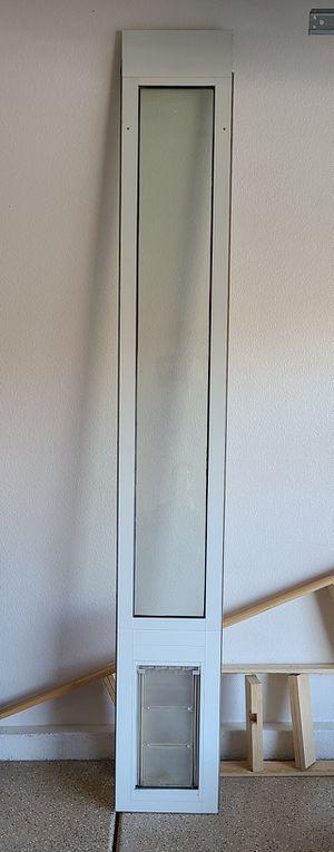 Doggy Door Adjustable Fits 9' Ceiling for Sale in Las Vegas, NV
