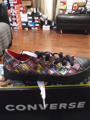 "Size 2 Junior Converse ""Teen Titans Go!"" for Sale in Granite City, IL"