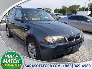 2006 BMW X3 3.0i for Sale in Sarasota, FL