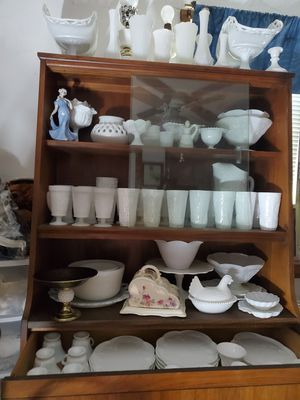Milkglass collection MAKE OFFER on each item for Sale in Livingston, CA