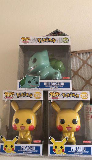 """Pikachu 10"""" Funko pops pokemon for Sale in Pomona, CA"""