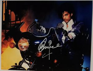 Prince autographed 8x10 photo for Sale in Farmville, VA