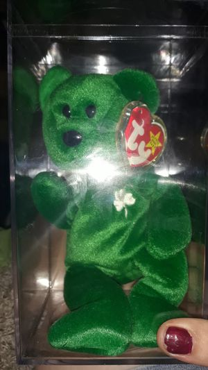 Erin an original beanie baby 1997 edition (mint condition) for Sale in Philadelphia, PA