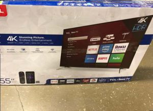 "55"" TCL Roku Tv❗️ 4AH for Sale in Colton, CA"