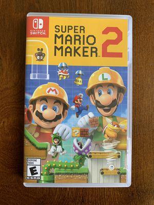 Super Mario Maker 2 for Nintendo Switch for Sale in Ontario, CA